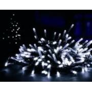 5 méteres 100 LED-es karácsonyfa izzó, különböző színekben - fehér