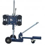 Bohle Hebegerät LIFTMASTER manuelle 2-Kreis-Hebeanlage, 360° drehbar, Tragfähigkeit 180 kg Scheiben-Ø 220 mm
