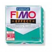 Gyurma, 56 g, égethető, FIMO Effect, áttetsző zöld
