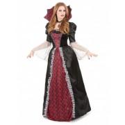 Vegaoo Bordeaux vampier kostuum voor vrouwen M