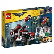 Lego batman movie 70921 attacco con il cannone di harley quinn