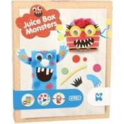 Set de creatie Keycraft Cutie de suc cu monstruleti dimensiuni 22 cm 6 ani+ Multicolor