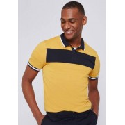 Jules Polo colorblock col contrastant