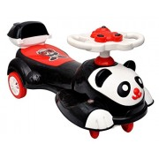 Toyshine Big Panda Magic Car, Ride-on Toy, White Black