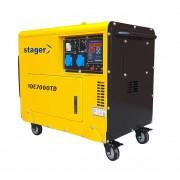 Generator Insonorizat Stager Yde7000Td, Diesel, Monofazat, 4.5 Kva, Silent
