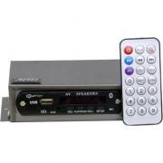 Barry John Magic Box Digital FM Compact USB for CAR/BIKE/TEMPO/TRACTOR/AUTO with Bluetooth/Aux/MMC Car Stereo (Single D