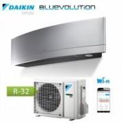 Daikin Condizionatore Inverter Emura Silver Wi-Fi Ftxj20ms R-32 Bluevolution 7000 Btu