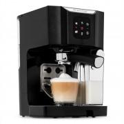 Klarstein BellaVita, кафемашина, 1450 W, 20 бара, млечна пяна, 3 в 1, черна (COF8-BellaVita-B)