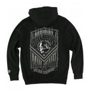 kapucnis pulóver férfi - Smash - METAL MULISHA - FA6522002.01_BLK