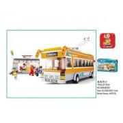 Sluban Trolley Bus 465 Piece Set Lego Compatible