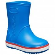 Crocs Kid`s Crocband Rain Boot Stivali di gomma (C6, blu)