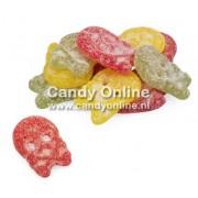 Bubs Bubs - Godis Zweedse Zure Fruit Doodskoppen 1 Kilo