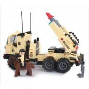 Конструктор Brick Combat Zone 822 Военен камион 310 елемента, 515112589