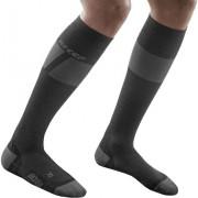 CEP Women Ski Socks Ultralight black/dark grey