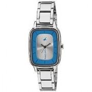 Fastrack Quartz Silver Dial Women Watch-6121SM01