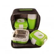 Set caserole PALOMA Verde pentru mancare termoizolante