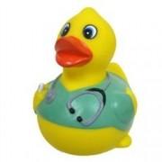 Rubber Ducks Family Nurse Rubber Duck, Waddlers Brand Toy Bathtub Rubber Ducks That Squeak, Rubber D