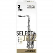 D'Addario Woodwinds Saxofón Tenor 3H cajita con 5 cañas