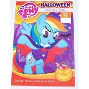 My Little Pony Friendship Is Magic Holiday Coloring & Activity Pad ~ Halloween (Vampire Rainbow Dash; 2014)