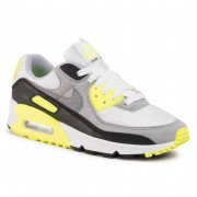Обувки NIKE - Air Max 90 CD0490 101 White/Particle Grey/Volt/Black
