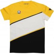 Dainese King K T-shirt Blanco/Amarillo XL