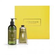 L'Occitane Дуэт для очищения кожи рук Вербена