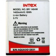 Intex Aqua 3G Li Ion Polymer Replacement Battery BR1464W
