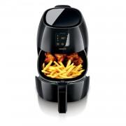 Friteusa Friteuza Philips Airfryer XL HD9240/90, Tehnologie RapidAir 210 grade C, Cronometru, LCD Touchscreen, Functie gatit presetata, 2100 W, 2.2 l, Negru