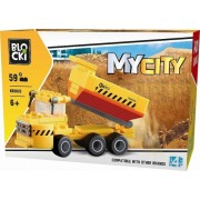 Joc constructie, My City, Basculanta, 59 piese Blocki