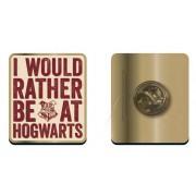 Half Moon Bay Harry Potter - I would rather be at Hogwarts Pin