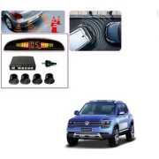 Auto Addict Car Black Reverse Parking Sensor With LED Display For Volkswagen Tiguan