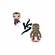 Funko Pop Set 2 Superman Vs Doomsday Exclusivo Dc