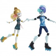 Monster High Papusi pe Role Lagoona si Gil Webber