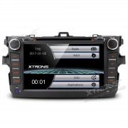 "Autoradio Toyota Corolla 2007-2011 2 DIN 8"" HD GPS UB SD Bluetooth"