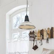 LOBERON Hanglamp Dukes / antiekwit