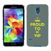 Husa Samsung Galaxy S5 Mini G800F Silicon Gel Tpu Model Vip