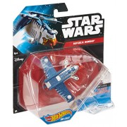 Hot Wheels Star Wars Starship Republic Gunship Tiger Shark