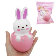 Jumbo Squishy 15cm Rabbit Animal Slow Rising Toy Gift Decor Collection With Packing