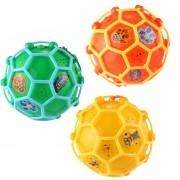 3 PCS Electric Dance Music Crazy Ball LED Niños Creatividad Bouncing Ball Toys, Color Al Azar Entrega
