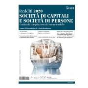 IlSole24Ore Redditi 2020. Società di capitali e società di persone