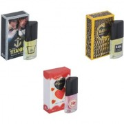 My Tune Combo Kabra Yellow-Titanic-Younge Heart Red Perfume