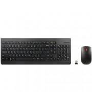 Lenovo 510, безжични, комплект клавиатура и мишка, 1200 dpi, USB, 2.4 GHz, черни