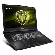 """Notebook MSI WT75-097ES 17,3"""" i7-9700K 64 GB RAM 1 TB SSD Negru"""