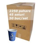 Pahar carton 6oz Blue SBP bax 2250buc