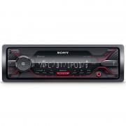 Sony DSX-A410BT Autoradio USB/AUX/Extra Bass Preto/Vermelho