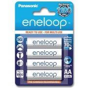 Pila Recargable Panasonic Eneloop AA Blister 4U 1.900mAh 2100 Ciclos