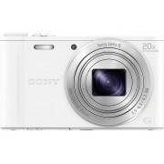 Sony Cyber-Shot DSC-WX350W Digitalkamera 18.2 Megapixel Zoom (optisk): 20 x Vit Full HD Video, WiFi