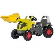Rolly Toys traptractor RollyKid Claas Elios junior grijs/groen