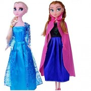 Tabu 10 inch Frozen Fever anna elsa 2+1 pcs figure dolls with olaf barbie Cinderella baby girl