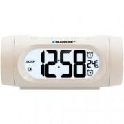 Radio cu ceas Blaupunkt FM radio Dual Alarm Termometru USB Alb